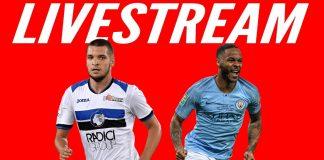 Atalanta VS Manchester City LIVE