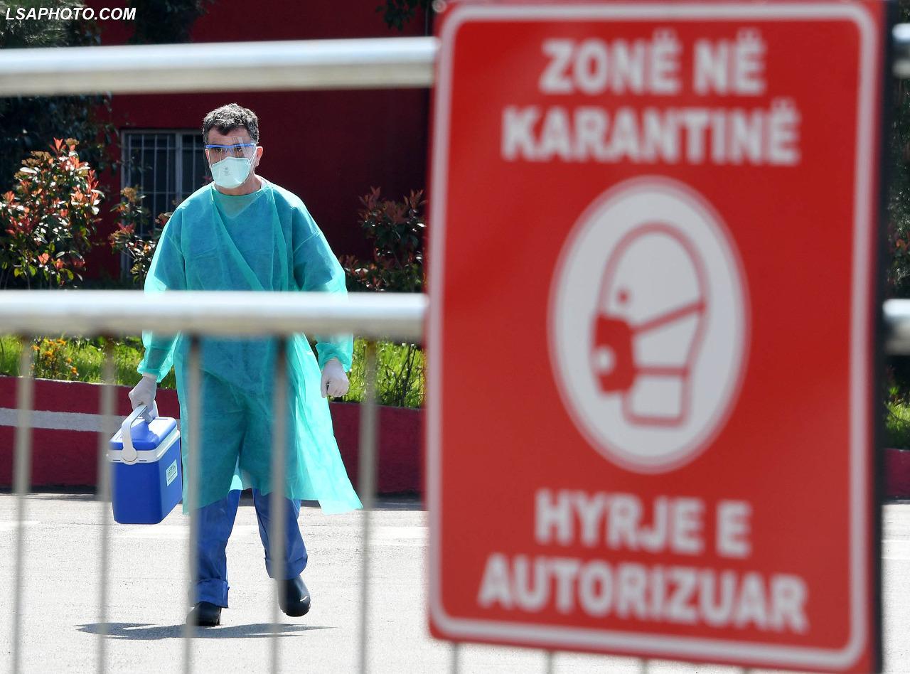 Covid 19/ 106 të infektuar në 24 orët e fundit në Shqipëri! Harta
