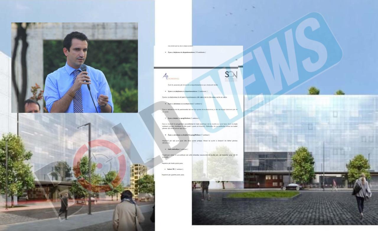 """Nuk tërhiqet """"Lali Eri"""", rishpall tenderin 5 mln dollarë për godinën luksoze të  Ujësjellësit"""